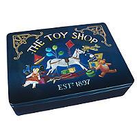 Grandma Wild's Toy Shop Biscuit Tin
