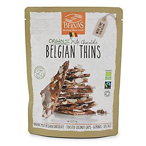Organic Belgian Milk Chocolate Thins