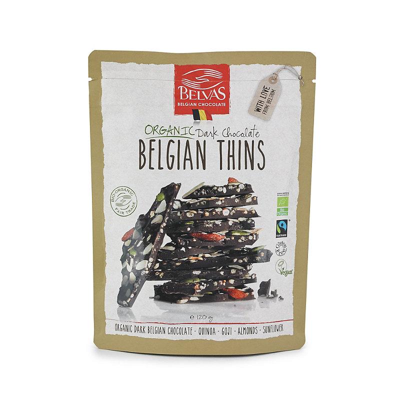 Organic Belgian Dark Chocolate Thins