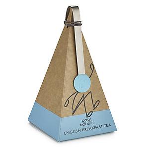 Cool Doodles English Breakfast Tea Pyramid
