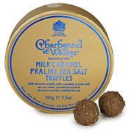 Charbonnel Milk Caramel Praline Sea Salt Truffles