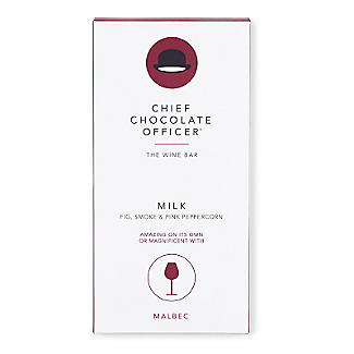 The Wine Bar Malbec Chocolate Bar