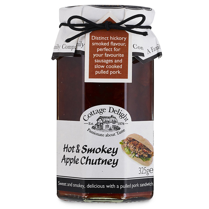 Cottage Delight Hot & Smokey Apple Chutney
