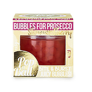PopaBall® Cherry Shimmer for Prosecco