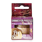 Rose Gold Shimmer Popaball For Prosecco