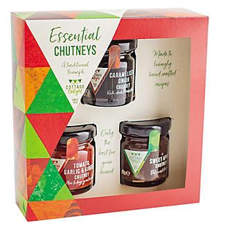 Cottage Delight Mini Delights Chutney Gift Trio