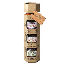 Scarlett & Mustard Christmas Cracker Food Gift Trio