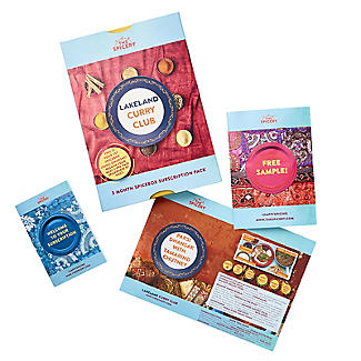 Curry Club 3 Month Subscription Gift Box