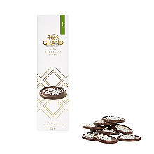Belgian Dark Chocolate Mint Chip Thins 60g