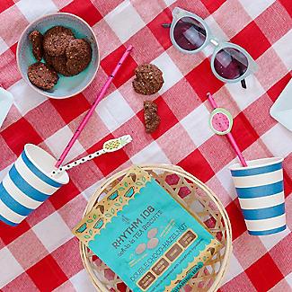 Double Chocolate Hazelnut Gluten-Free Organic Biscuits 160g alt image 2