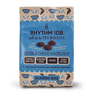Double Chocolate Hazelnut Gluten-Free Organic Biscuits 160g alt image 4