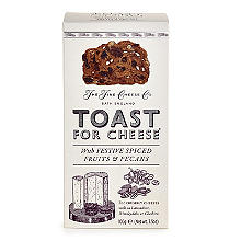 The Fine Cheese Co Toast for Cheese with Festive Spices 100g