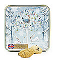 Grandma Wild's Embossed Partridge in a Pear Tree Biscuit Tin 160g