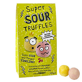 Super Sour Chocolate Truffles 120g
