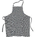 Apron, Black & Whited Checked
