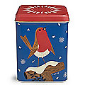 John Hanna Robin Tea Caddy with English Breakfast Tea Bags 100g