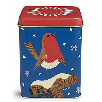 John Hanna Robin Tea Caddy with English Breakfast