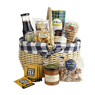St Kew Duchy Basket Cornish Food Hamper