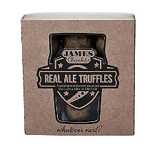 James Chocolates Real Ale Truffles 100g