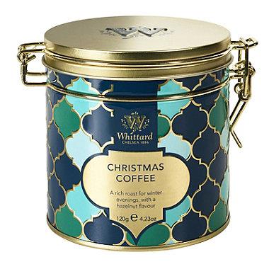 Whittard of Chelsea Christmas Coffee Tin 120g