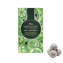 Thomas & Grace Dark Chocolate Gin Caramels 130g