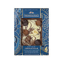 Thomas & Grace Salted Caramel Luxury Milk Chocolate Slab 175g