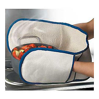 Doppel-Ofenhandschuh mit Dampfsperre alt image 2