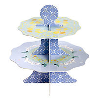 Great British Bake Off 2 Tier Cardboard Cake Display Stand
