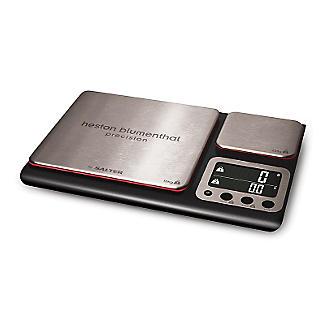 Salter® Precision Dual Platform Flat Digital Kitchen Weighing Scale alt image 2
