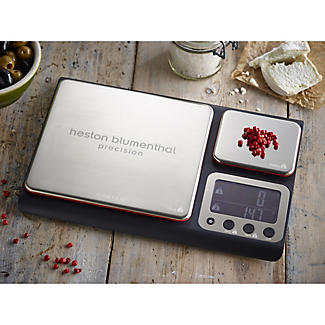 Salter® Precision Dual Platform Flat Digital Kitchen Weighing Scale alt image 3