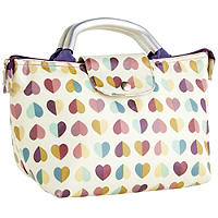 Vintage Confetti Lunch Bag