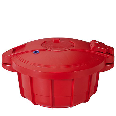 Microwave Cookware - Red Pressure Cooker 2.2L