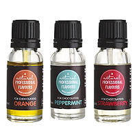 Natural Cake & Icing Flavours For Chocolate - 3 x 15ml