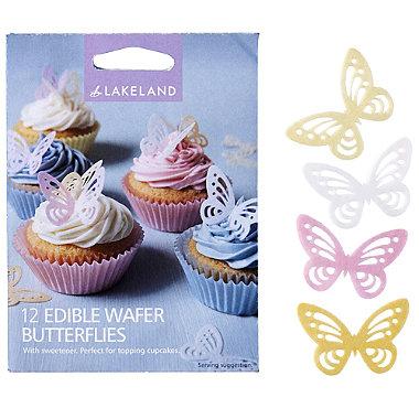 Edible Wafer Butterflies