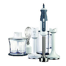 Kenwood Triblade Stick Hand Blender Set White Hdp406wh