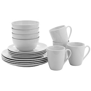 Lakeland Value 16 Piece Dinner Set