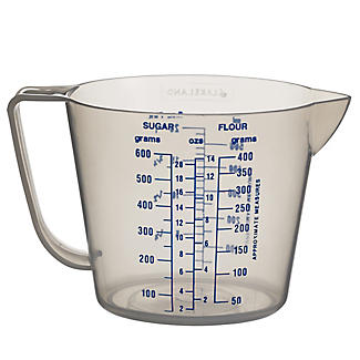 Lakeland Value Clear Plastic Measuring Jug 0.5L