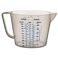 Lakeland Value Clear Plastic Measuring Jug 1L