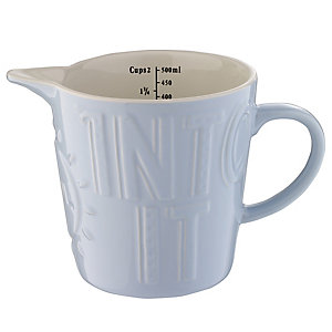 Mason Cash Pour Your Soul Into It Measuring Jug