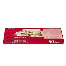 50 Lakeland Strong Foil Sheets