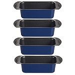Lakeland 4 Mini Loaf Tins