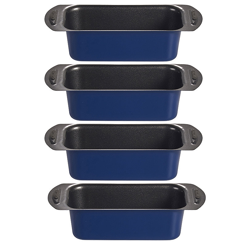 4 Mini Loaf Tins