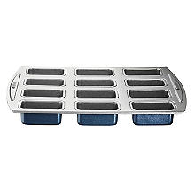 Lakeland 12 Hole Loose-Based Mini Loaf Tin