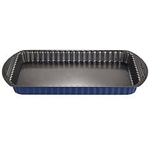 Loose Based Flan, Tart & Quiche Tin - Rectangular