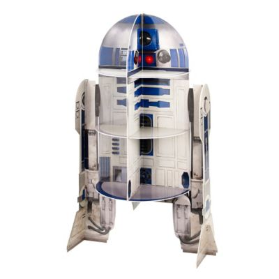 Star Wars R2d2 Cupcake Stand Holds 12