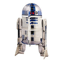 Star Wars™ R2D2 Cardboard Cupcake Cake Display Stand