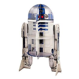 Star Wars™ R2D2 Cardboard Cupcake Cake Display Stand - 12 Cupcakes