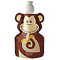 Fold Up Monkey Water Bottle