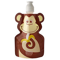 Fold Up Monkey Water Bottle