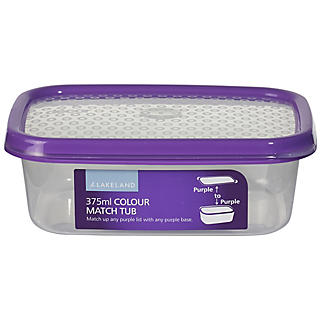 Vorratsbox mit Deckel und Farbsystem, 375 ml